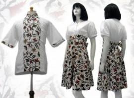sekretaris-ku-baju-batik-wanita-dress
