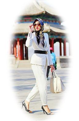 Sekretaris Ku Gaya Fashion Muslim Kantor Trendy Sekretaris Ku