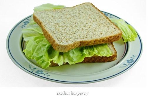 makanan pembuat gemuk roti putih